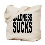 Baldness Sucks Tote Bag