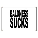 Baldness Sucks Banner
