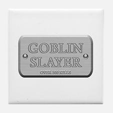 Brushed Steel - Goblin Slayer Tile Coaster