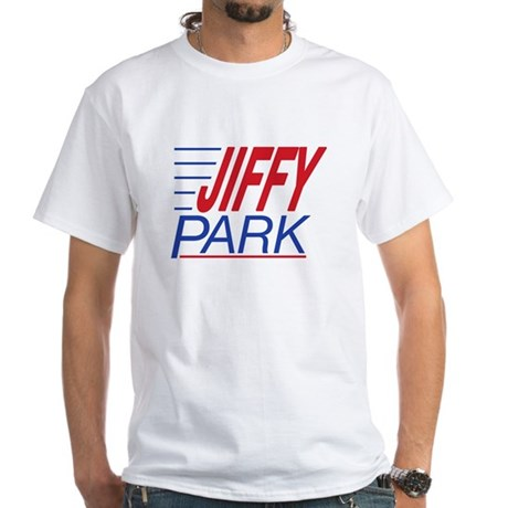 JIFFY PARK White T-Shirt 2 sided