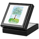 Green Riverside - Keepsake Box