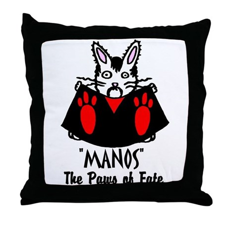 Manos Throw Pillow