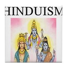 hindu gifts t-shirts Tile Coaster