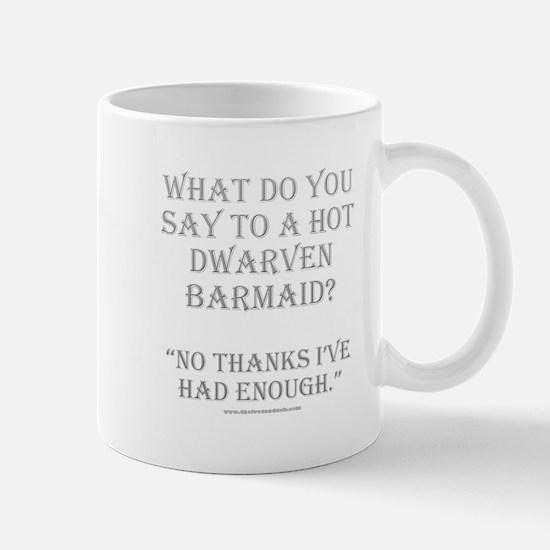 Dwarven Barmaid Mug