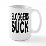 Bloggers Suck Large Mug