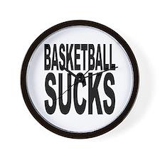 Basketball Sucks Wall Clock