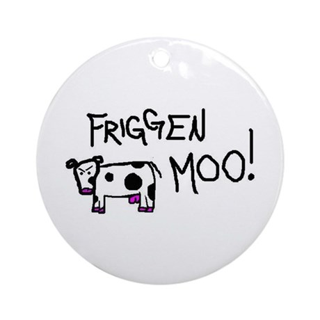 Mad Cow Keepsake (Round)