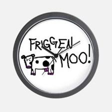 Mad Cow Wall Clock