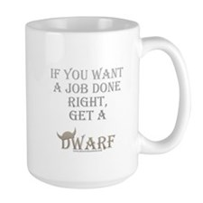 Dwarven Job Mug