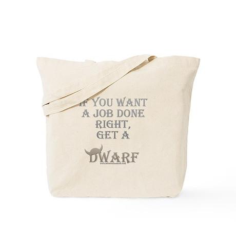 Dwarven Job Tote Bag