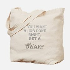 Dwarven Job Tote Bag