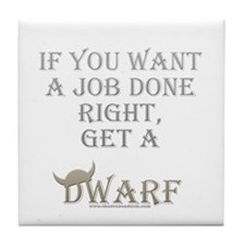 Dwarven Job Tile Coaster