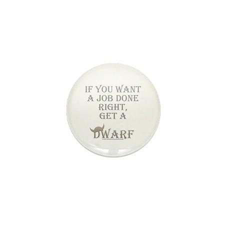 Dwarven Job Mini Button