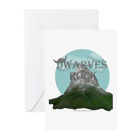 Dwarves Rock - Mountain Greeting Cards (Pk of 10)