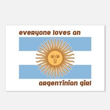 Everyone Loves an Argentinian Girl Postcards (Pack