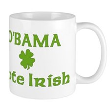 Obama Vote Irish Mug