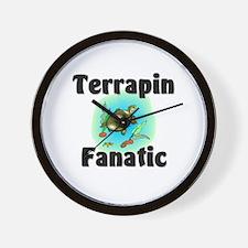 Terrapin Fanatic Wall Clock
