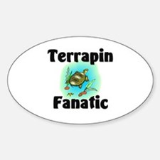 Terrapin Fanatic Oval Decal