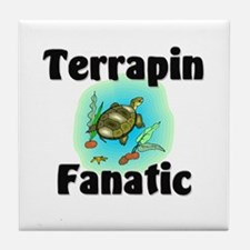 Terrapin Fanatic Tile Coaster