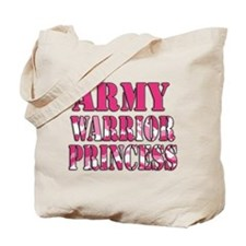 ARMY Warrior Princess Tote Bag