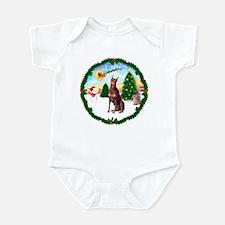 Take Off1/Doberman Pinscher ( Infant Bodysuit