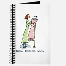Cute Fashion designer Journal
