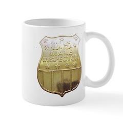 U. S. Male Inspector Mug