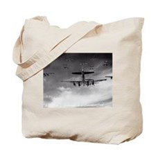 B-17's Over Germany Tote Bag