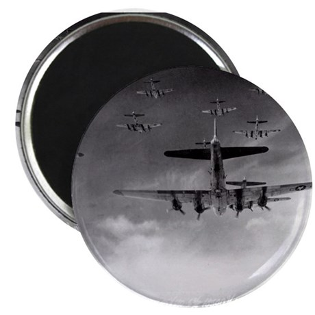 "B-17's Over Germany 2.25"" Magnet (10 pack)"