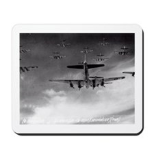B-17's Over Germany Mousepad