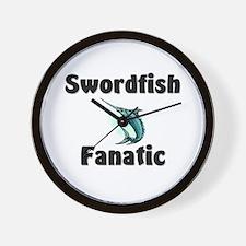 Swordfish Fanatic Wall Clock