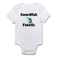 Swordfish Fanatic Infant Bodysuit