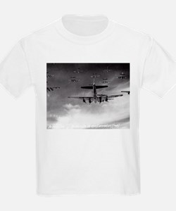 B-17's Over Germany Kids T-Shirt