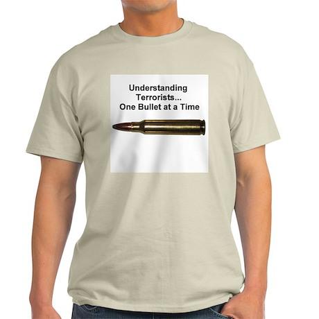 Understanding Terrorists Ash Grey T-Shirt