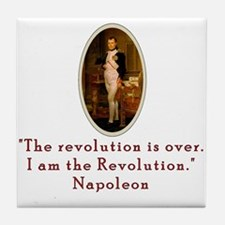 Napoleon Revolution Tile Coaster