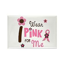 I Wear Pink For ME 12 Rectangle Magnet (10 pack)