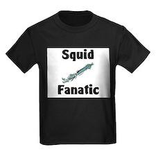 Squid Fanatic Kids Dark T-Shirt