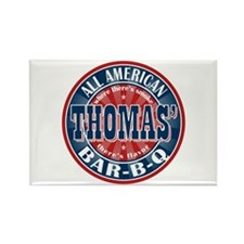 Thomas' All American BBQ Rectangle Magnet