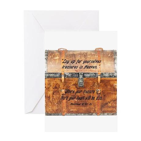 Treasure in Heaven Greeting Card