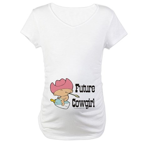 Future Cowgirl Maternity T-Shirt