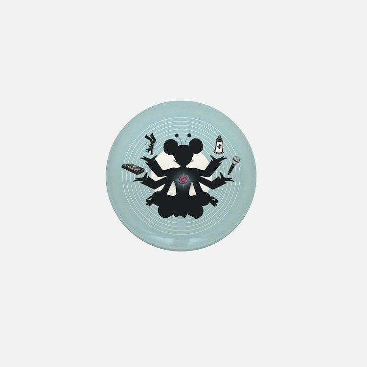 Vishnu Remix Mini Button