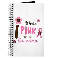 I Wear Pink For My Grandma 12 Journal