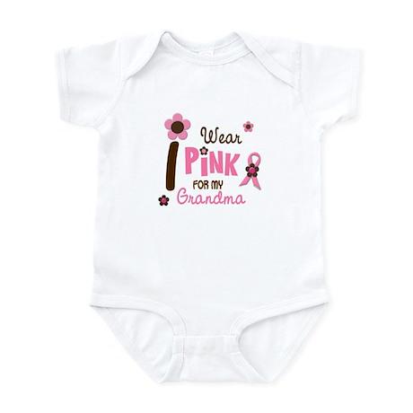I Wear Pink For My Grandma 12 Infant Bodysuit