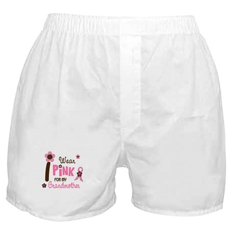 I Wear Pink For My Grandmother 12 Boxer Shorts