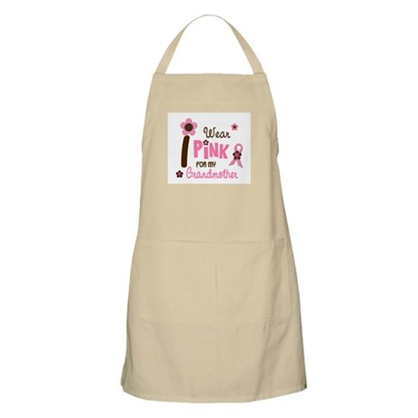 I Wear Pink For My Grandmother 12 BBQ Apron