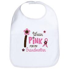 I Wear Pink For My Grandmother 12 Bib