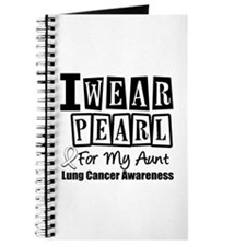 I Wear Pearl For My Aunt Journal