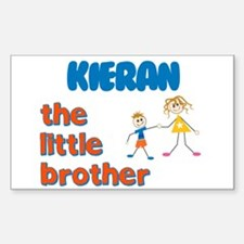 Kieran - The Little Brother Rectangle Decal