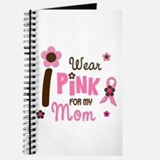 I Wear Pink For My Mom 12 Journal
