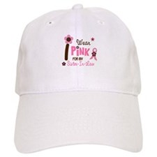 I Wear Pink For My Sister-In-Law 12 Baseball Cap